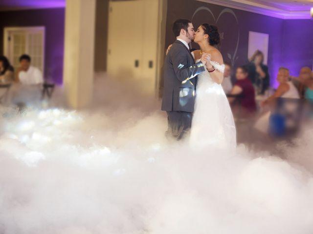The wedding of Priya and Mike
