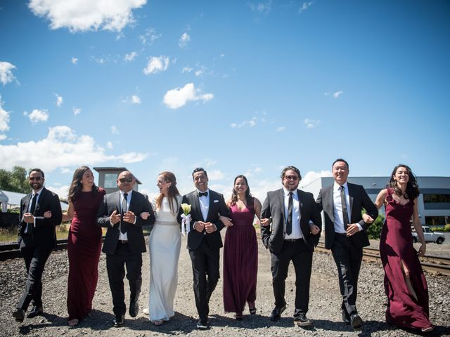 Jeremiah and Lizzy's Wedding in Portland, Oregon 7