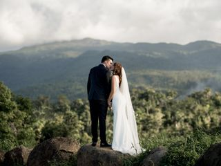 The wedding of Rina and Manuel