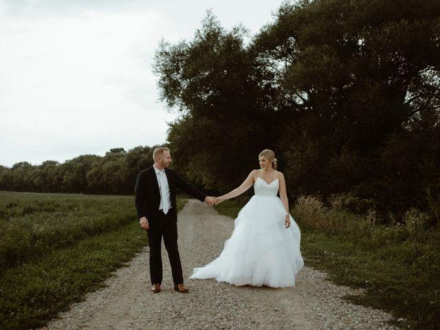 The wedding of Kayla and Brad