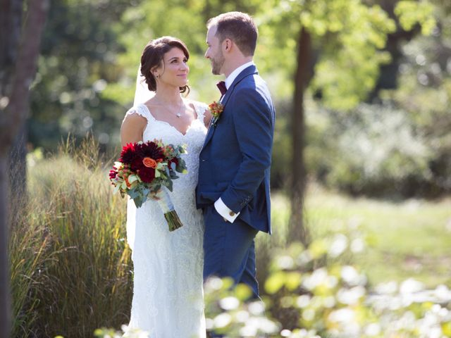 The wedding of Tara and Michael