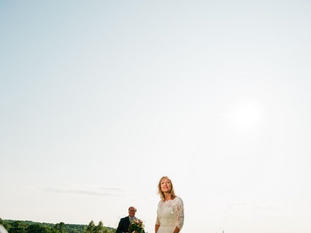 Richard and Kristin's Wedding in Chebeague Island, Maine 24