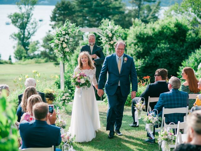 Richard and Kristin's Wedding in Chebeague Island, Maine 29
