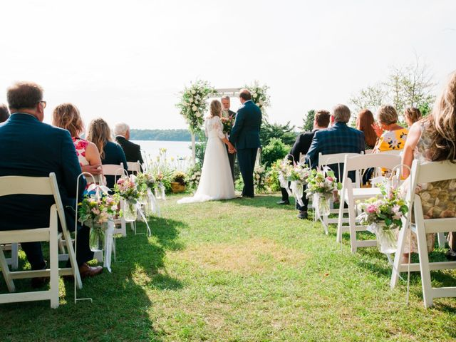 Richard and Kristin's Wedding in Chebeague Island, Maine 34