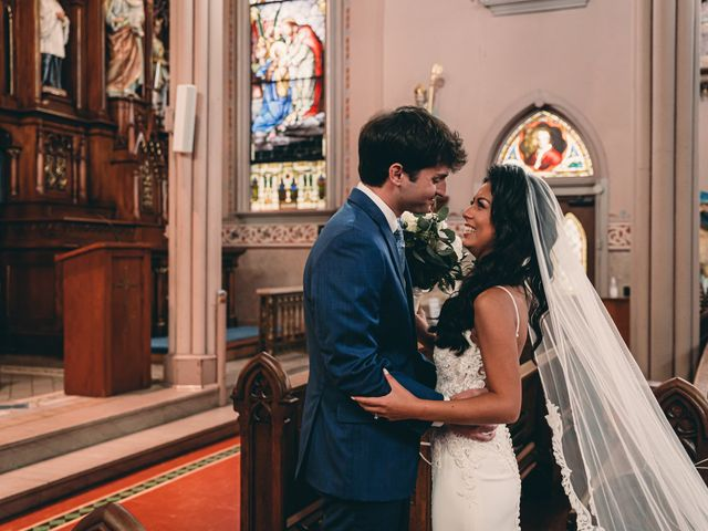 The wedding of Will and Paola