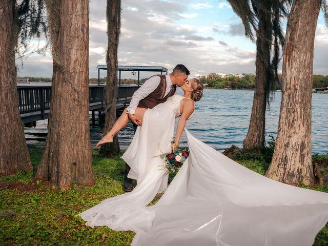 The wedding of Loe Green and Joe Green
