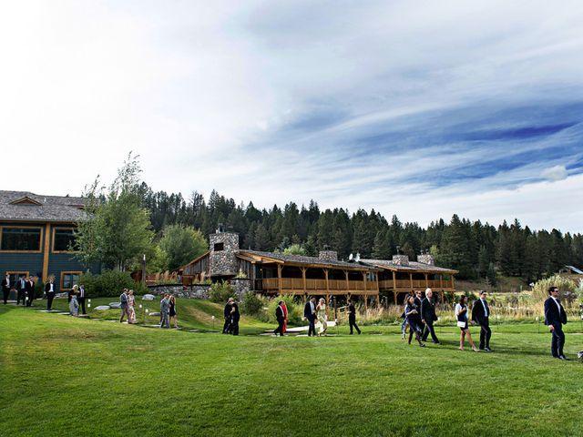 Alyssa and David's Wedding in Big Sky, Montana 13
