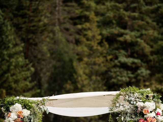 Alyssa and David's Wedding in Big Sky, Montana 16