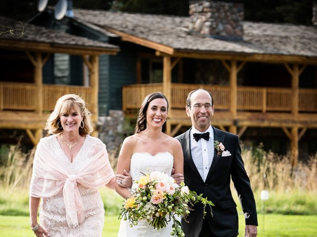 Alyssa and David's Wedding in Big Sky, Montana 17