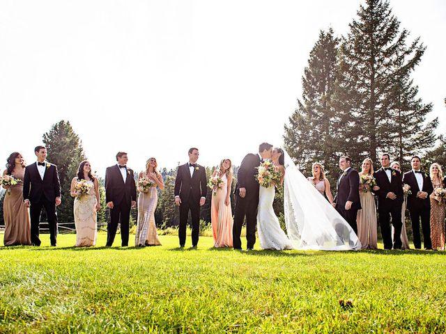 Alyssa and David's Wedding in Big Sky, Montana 22