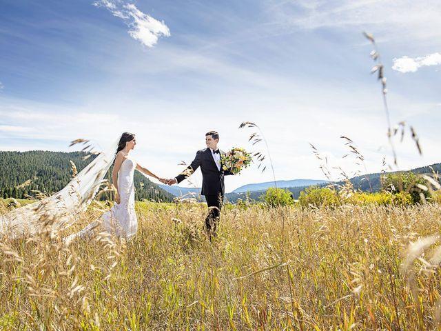 Alyssa and David's Wedding in Big Sky, Montana 23
