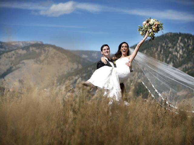 Alyssa and David's Wedding in Big Sky, Montana 25