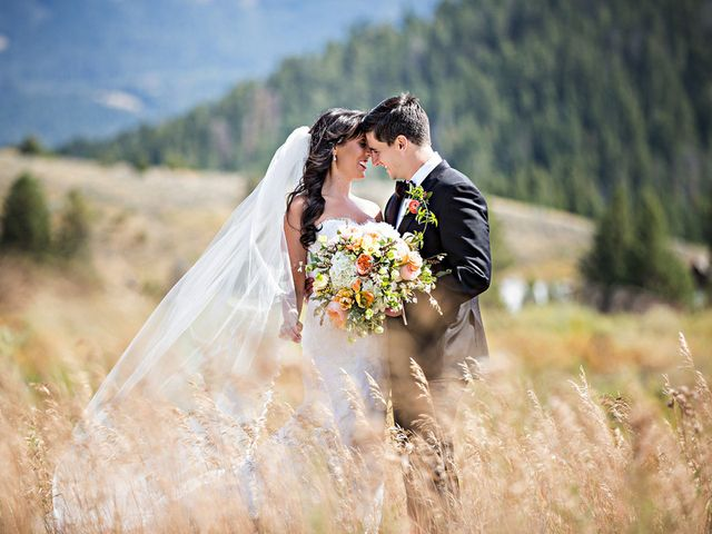 Alyssa and David's Wedding in Big Sky, Montana 24