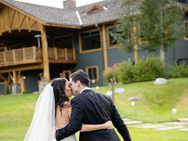 Alyssa and David's Wedding in Big Sky, Montana 36
