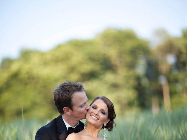 The wedding of Sam and Gwyn