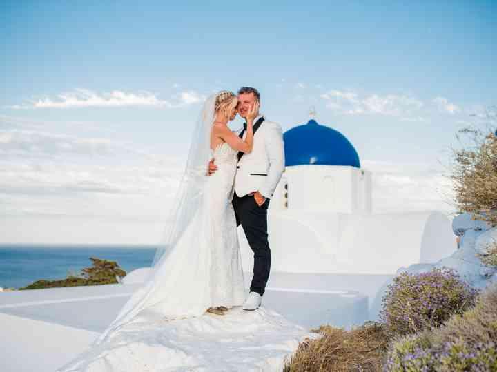 The wedding of Paulina and Scott
