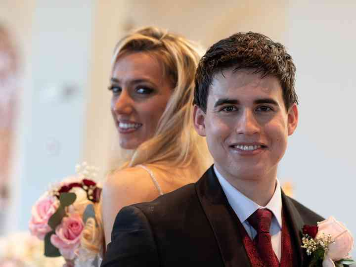 The wedding of Alexandra and Christopher