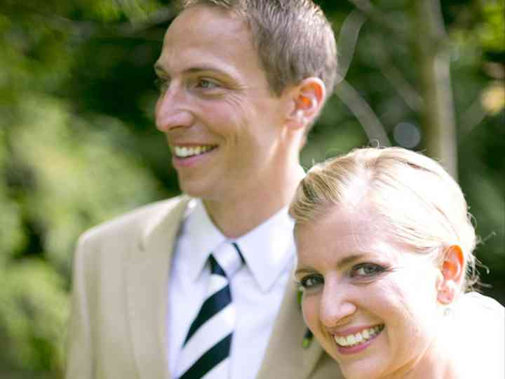 The wedding of Grant and Sarah
