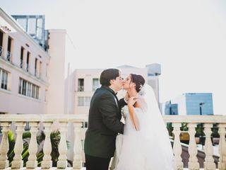 The wedding of Kati and David
