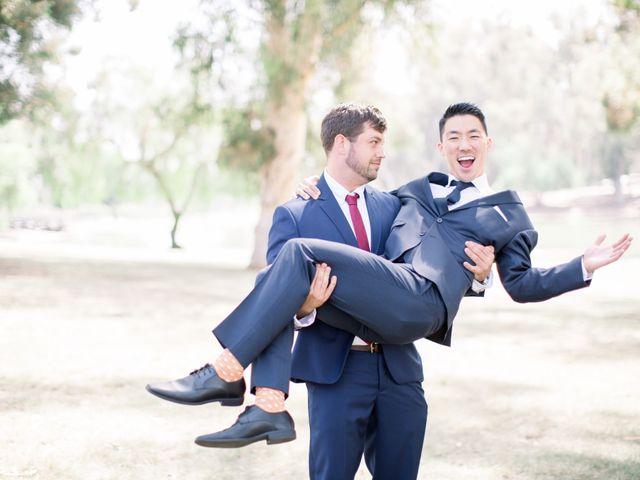 Justin and Deborah's Wedding in Orange, California 4