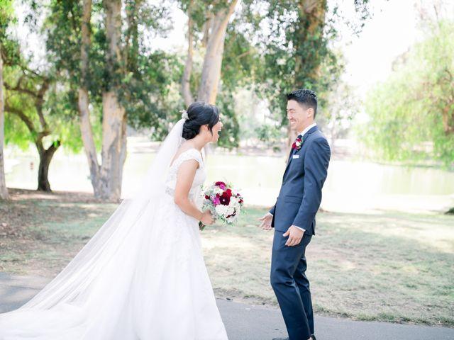 Justin and Deborah's Wedding in Orange, California 11