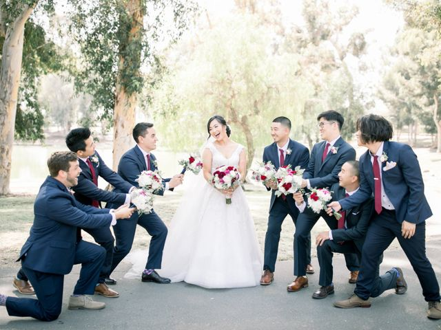 Justin and Deborah's Wedding in Orange, California 16