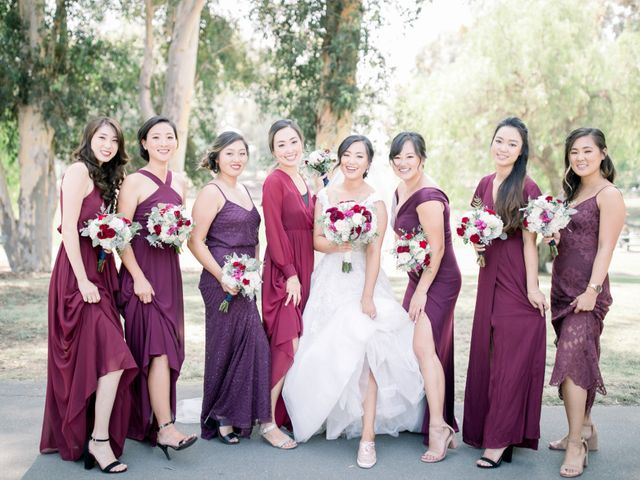 Justin and Deborah's Wedding in Orange, California 18
