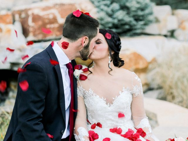 The wedding of Skylar and Eli