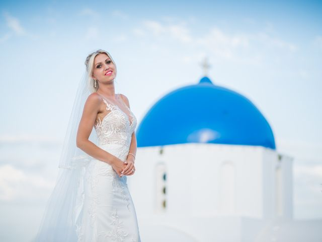 Scott and Paulina's Wedding in Santorini, Greece 2