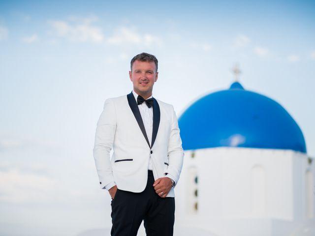 Scott and Paulina's Wedding in Santorini, Greece 3