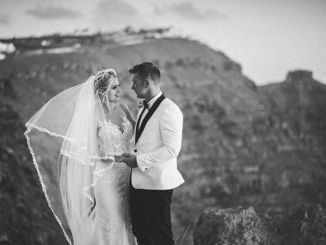 Scott and Paulina's Wedding in Santorini, Greece 8