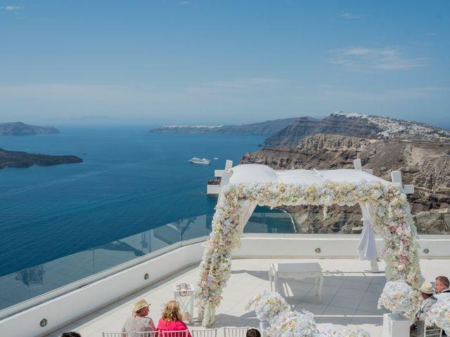 Scott and Paulina's Wedding in Santorini, Greece 9
