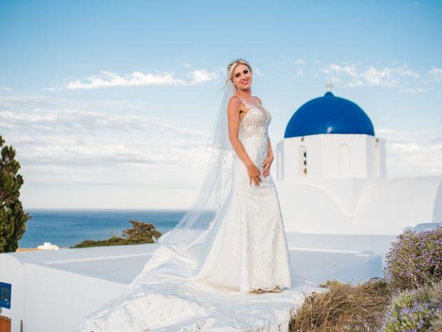 Scott and Paulina's Wedding in Santorini, Greece 4