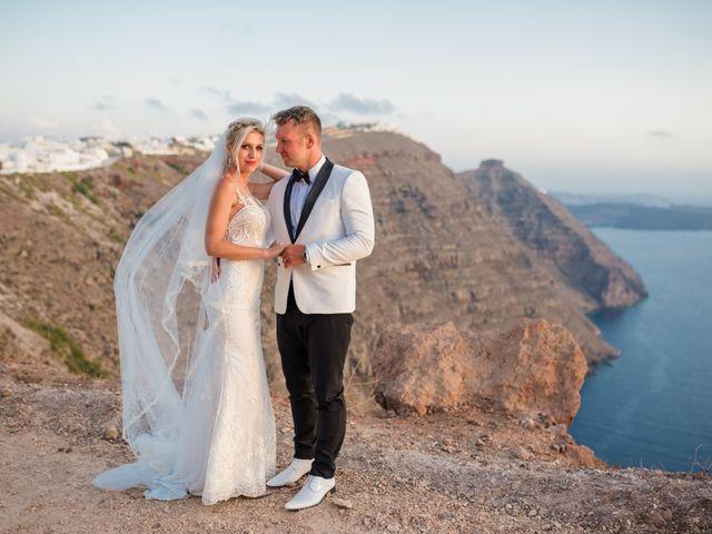 Scott and Paulina's Wedding in Santorini, Greece 6