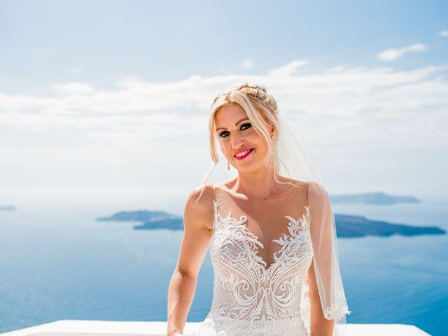 Scott and Paulina's Wedding in Santorini, Greece 7