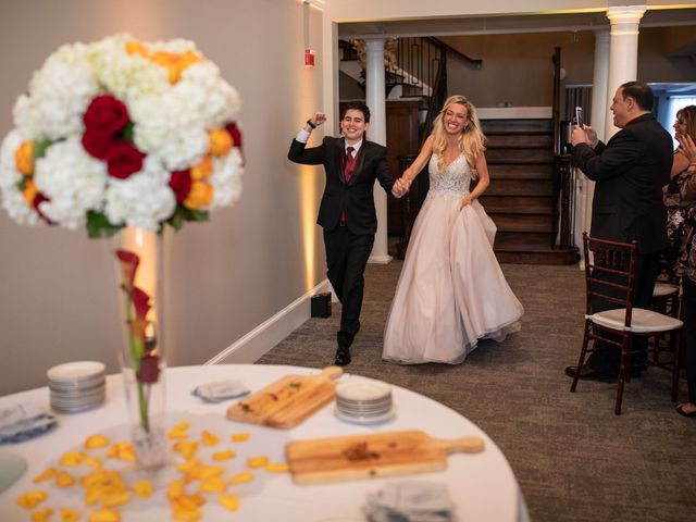 Christopher and Alexandra's Wedding in Brookeville, Maryland 13