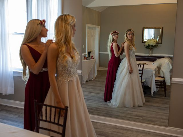Christopher and Alexandra's Wedding in Brookeville, Maryland 16