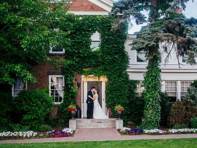 The wedding of Kiersten and Kyle