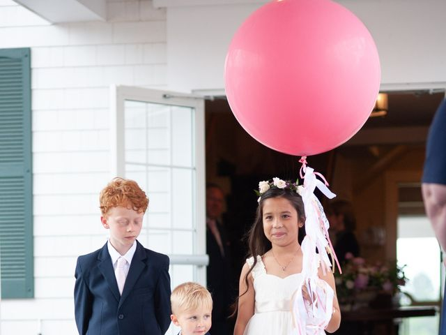 Adam and Meredith's Wedding in Southport, Maine 7