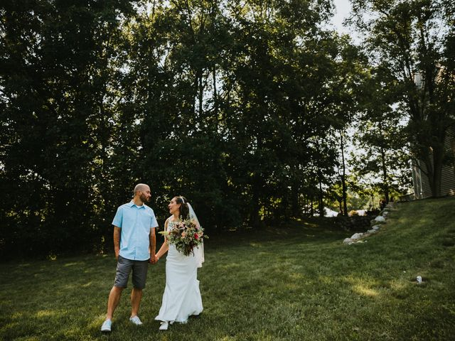 The wedding of Kayla and Kyle