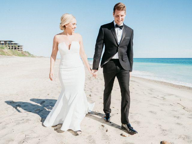 The wedding of Ashley and Joel