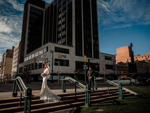 Jay and Naidy's Wedding in Buffalo, New York 34