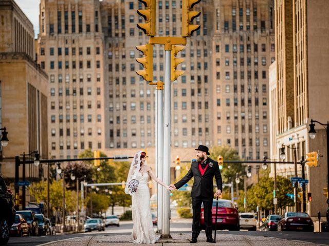 Jay and Naidy's Wedding in Buffalo, New York 36