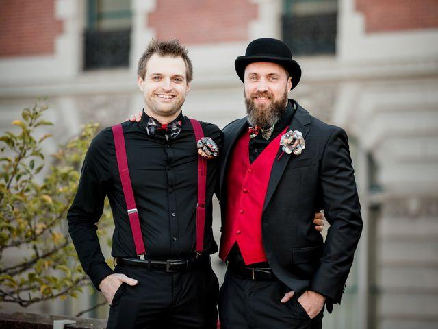 Jay and Naidy's Wedding in Buffalo, New York 47
