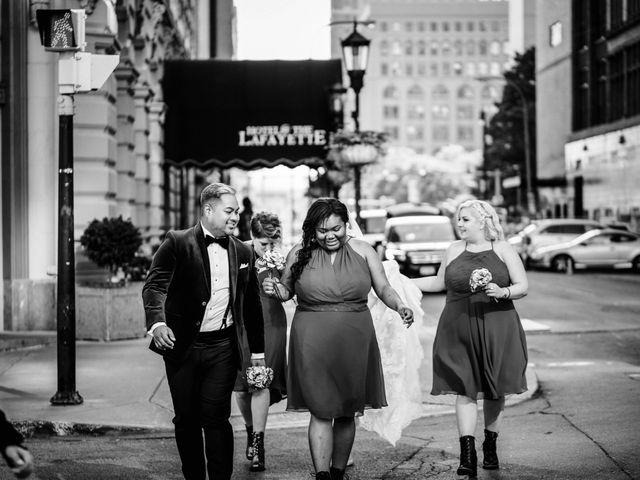 Jay and Naidy's Wedding in Buffalo, New York 55