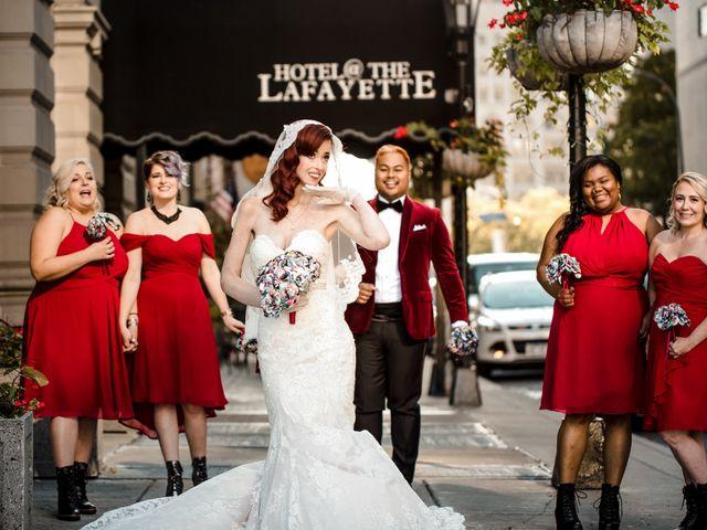 Jay and Naidy's Wedding in Buffalo, New York 57