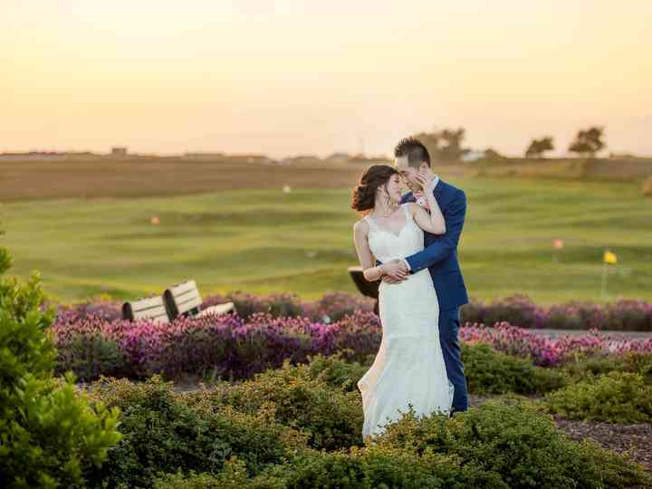 The wedding of Karen and Chris