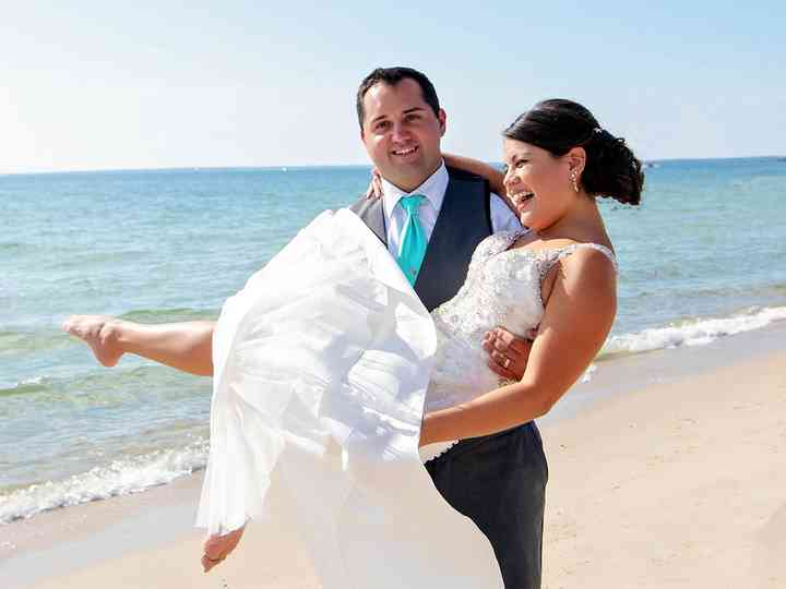 The wedding of Elysa and Stephen