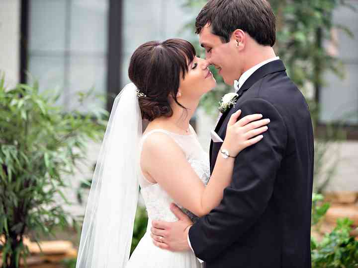 The wedding of Alyssa and Caleb