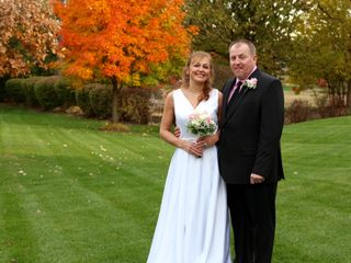 The wedding of George and Kristy